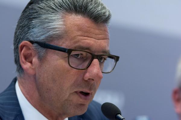 BDI-Präsident Ulrich Grillo bezieht zur aktuellen Lage der deutschen Luftverkehrswirtschaft Stellung.