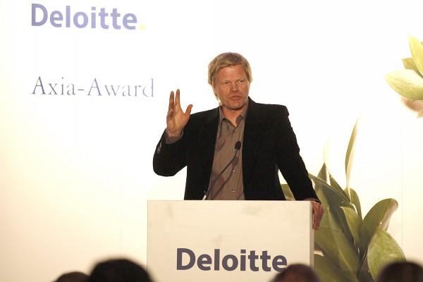 Oliver Kahn beim AXIA AWARD 2014