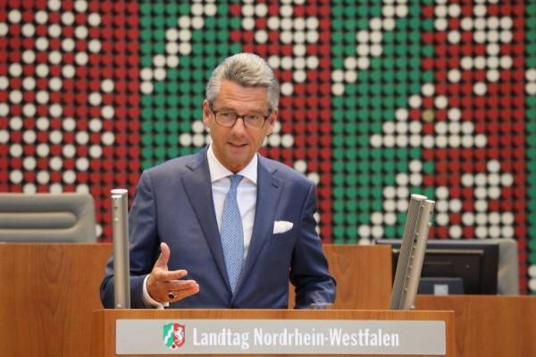 BDI-Präsident Ulrich Grillo ermunterte in seiner Rede zu mehr Zuversicht und weniger Schicksalsergebenheit.