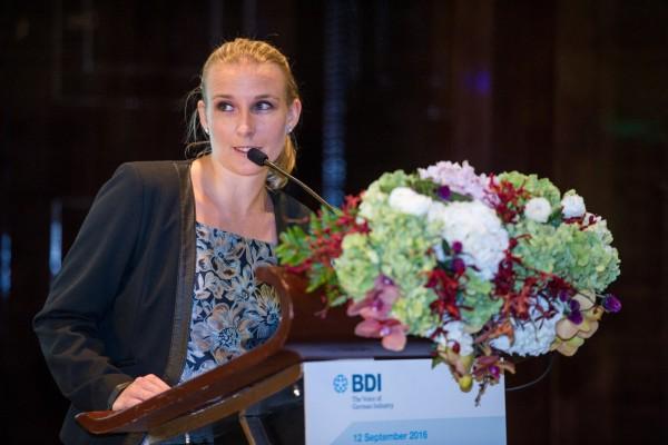 Hanna Müller, BDI-Repräsentantin in Peking