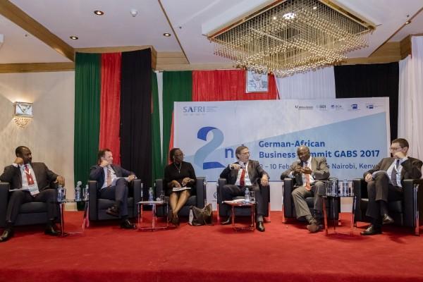 "Stefan Mair, Mitglied der BDI-Hauptgeschäftsführung, leitete das Panel ""Integrated Africa: Regional Economic Integration and Emerging Business Opportunities"""