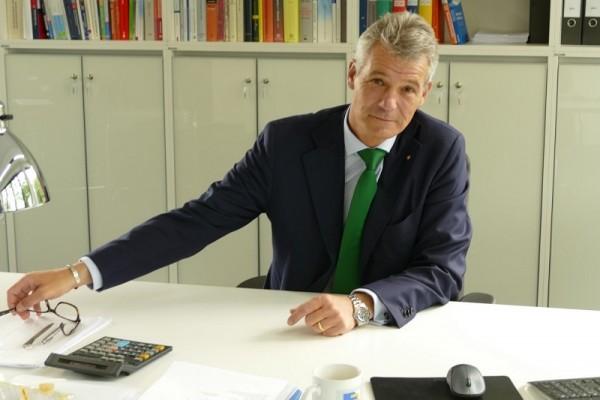 Thomas Echterhoff, Vorsitzender des BDI-Ausschusses Öffentliches Auftragswesen