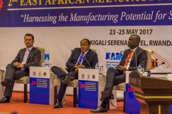 "Matthias Wachter auf dem Panel ""Perspectives on Optimizing the Manufacturing Business Environment and Investment in Strategic Industries in East Africa"""