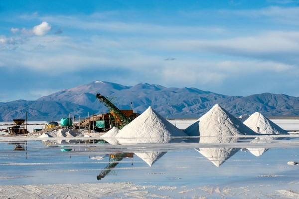 Lithiumgewinnung in Argentinien