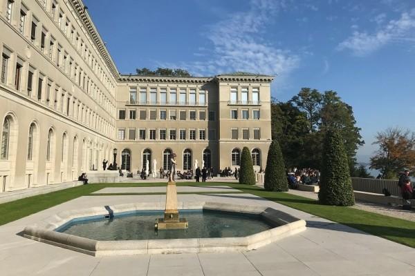 WTO-Gebäude am Genfer See